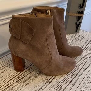 Kate Spade bow booties